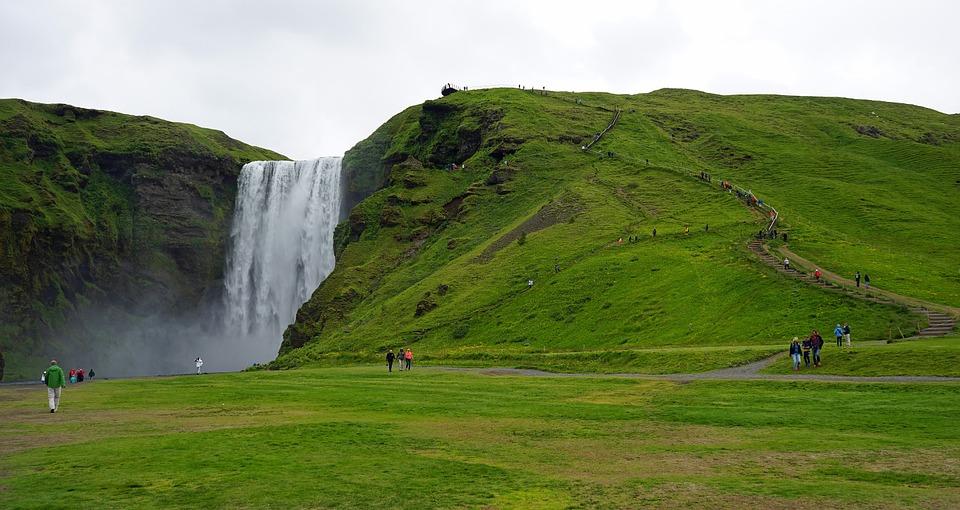 islande skogafoss